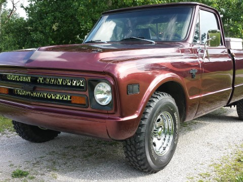 1968 Chevrolet C-10 Long Bed Pickup Truck for sale