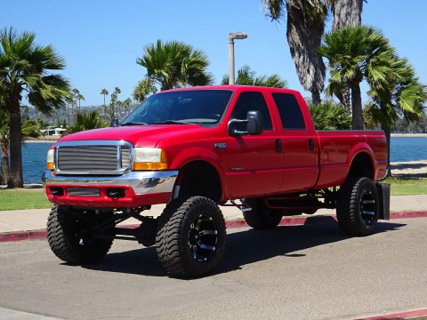 2000 Ford F-250 XLT Crew Cab Lifted Custom for sale