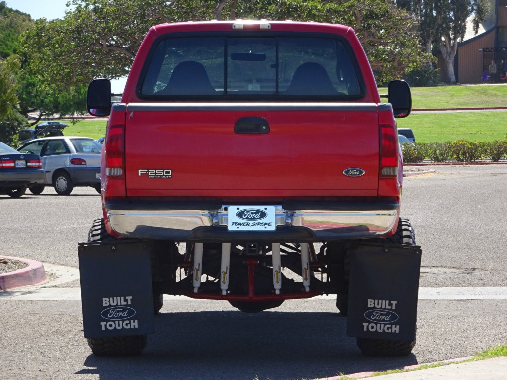 2000 Ford F-250 XLT Crew Cab Lifted Custom