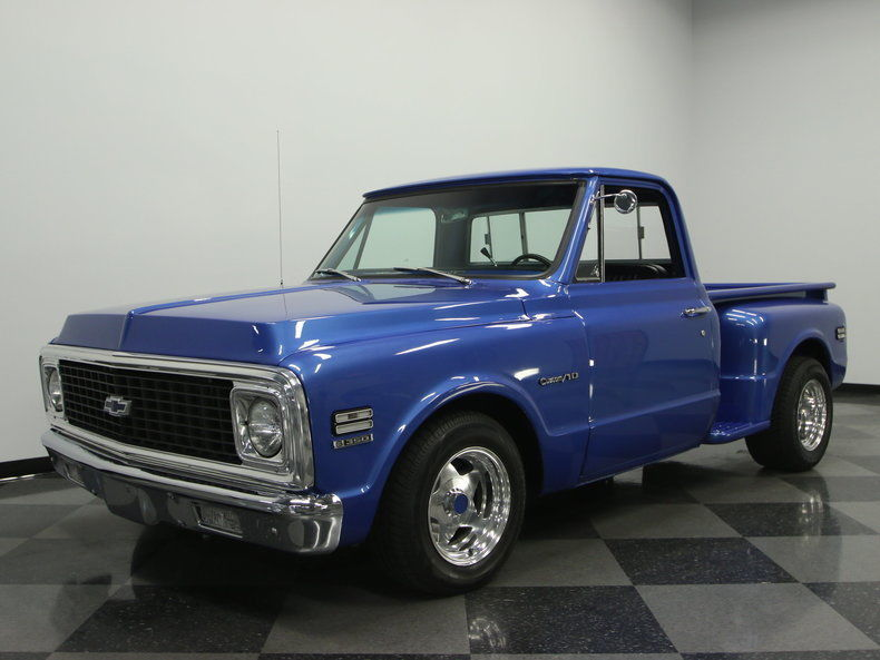 1972 chevrolet c 10 pickup for sale. Black Bedroom Furniture Sets. Home Design Ideas