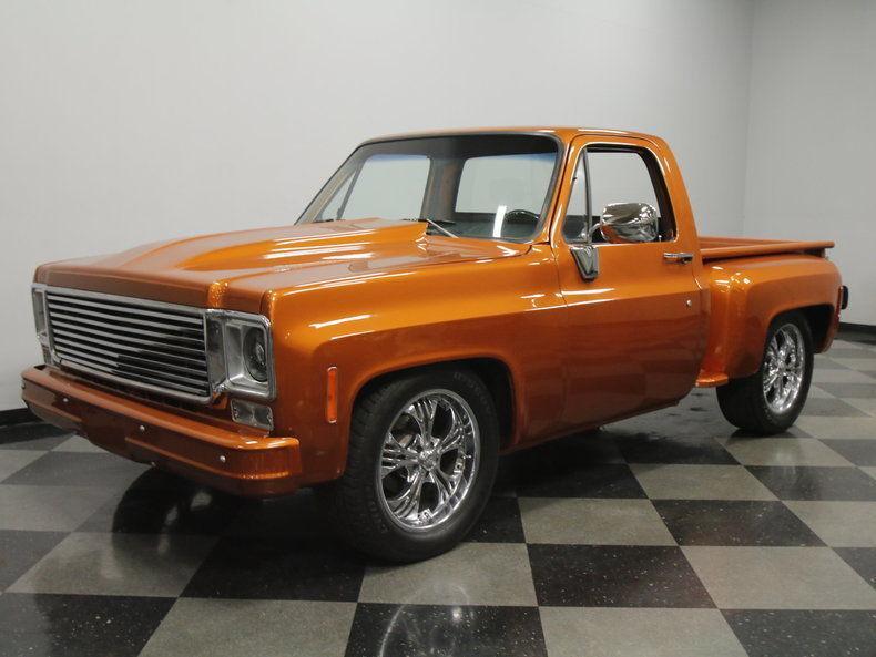 1977 Chevrolet C10 Custom Pickup For Sale