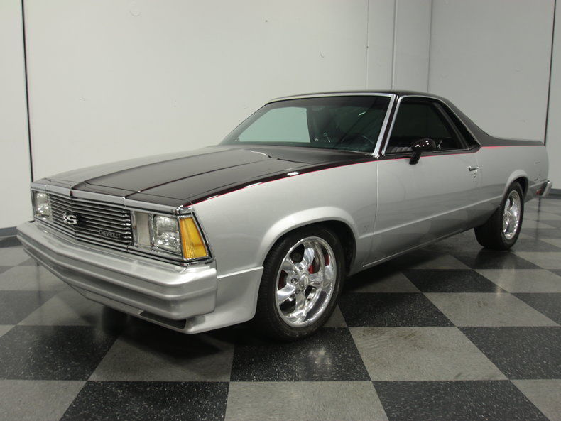 1981 Chevrolet El Camino Custom Pickup 2 Door For Sale