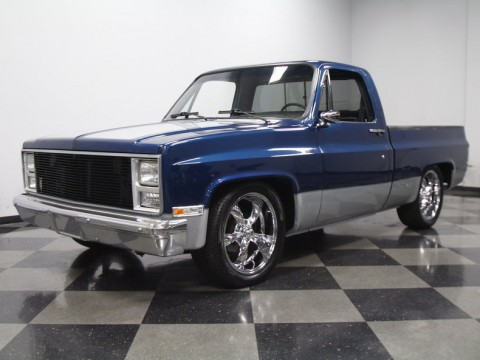 1985 Chevrolet Silverado 1500 custom pickup for sale