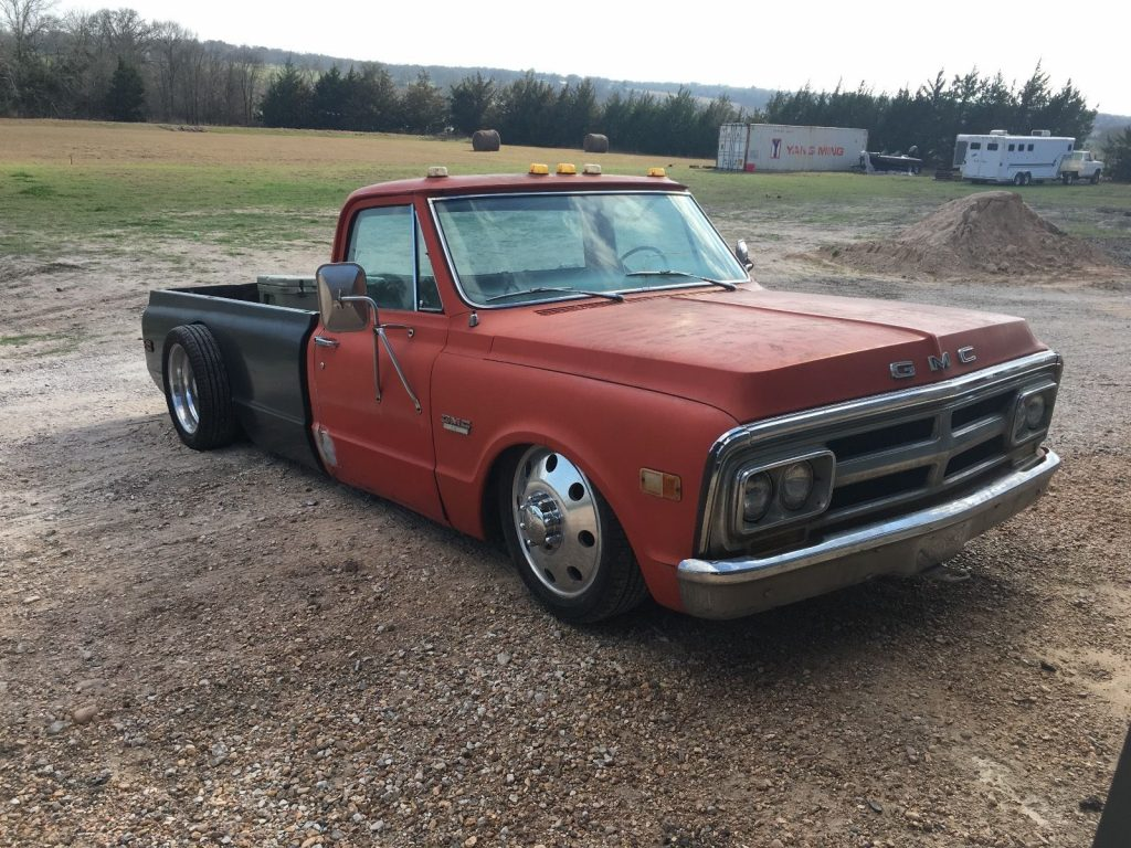 1969 gmc 3500 c30 custom project truck dually for sale. Black Bedroom Furniture Sets. Home Design Ideas