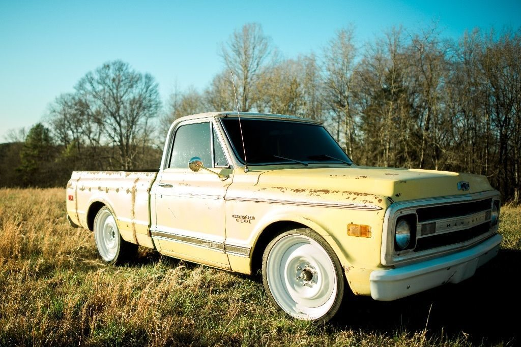 1969 Chevy Truck For Sale >> Yellow custom 1969 Chevrolet C10 for sale