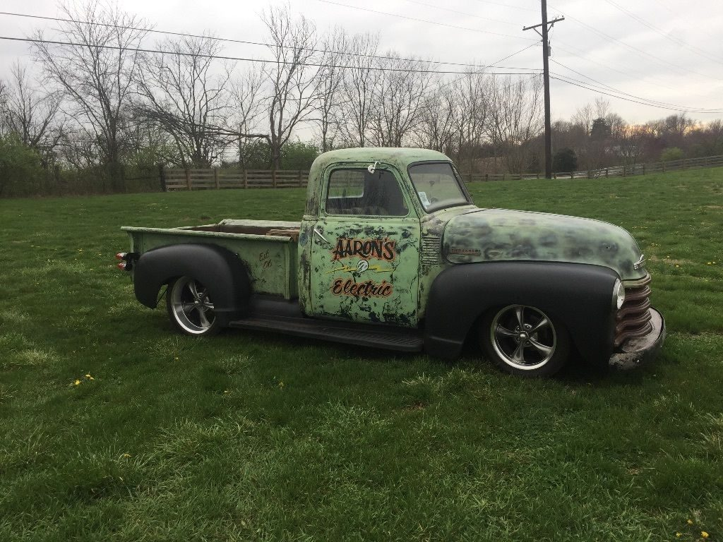 Absolutely perfect 1950 Chevrolet custom Pickup