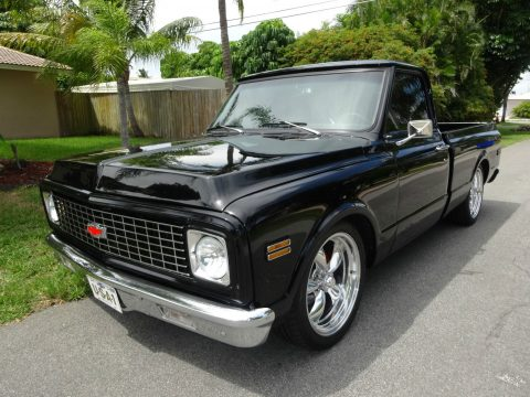 Awesome 1971 Chevrolet C 10 custom, older frame off restoration for sale