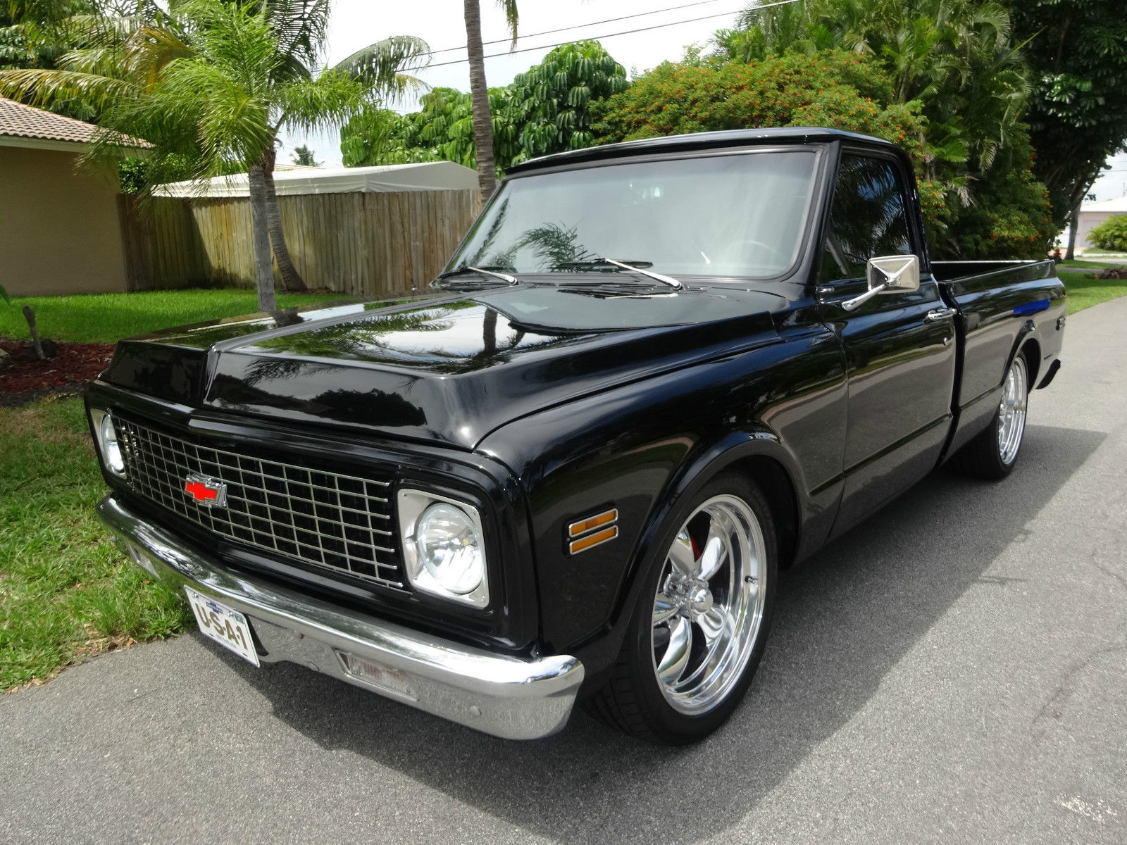 Awesome 1971 Chevrolet C 10 Custom Older Frame Off