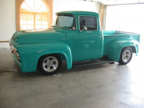 Big block 1956 Ford F 100 Big Window Gray Interior for sale