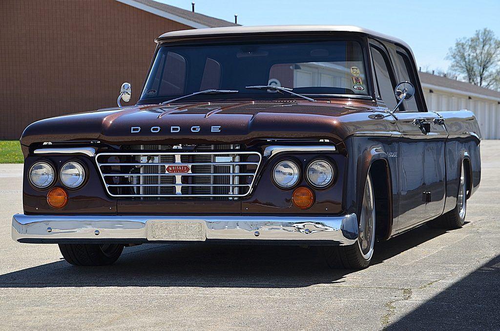 fantastic 1962 dodge pickups crew cab custom jaw dropper. Black Bedroom Furniture Sets. Home Design Ideas
