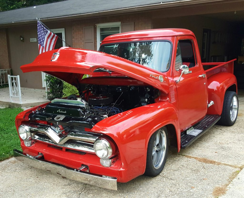 Nice & clean 1955 Ford F 100 Base Standard Cab
