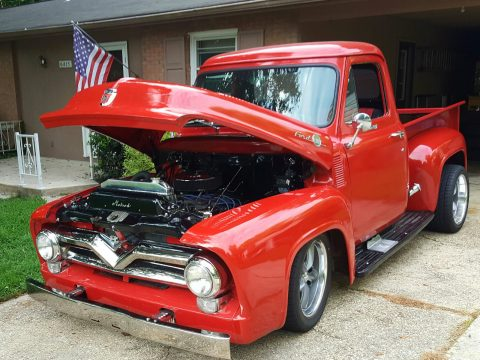 Nice & clean 1955 Ford F 100 Base Standard Cab for sale