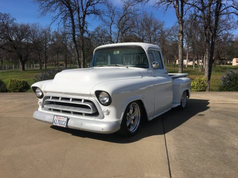 Recently restored 1957 Chevrolet Pickup, frame off restoration for sale