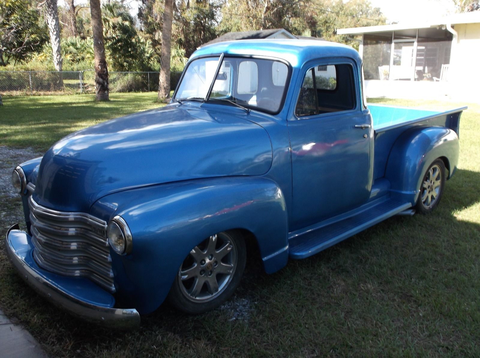 rust free 1951 chevrolet pickup for sale. Black Bedroom Furniture Sets. Home Design Ideas