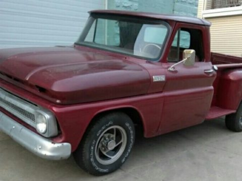 Well preserved 1965 Chevrolet Pickup custom, only few dents and scratches for sale