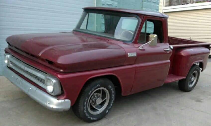 Seat Covers For Trucks >> Well preserved 1965 Chevrolet Pickup custom, only few dents and scratches for sale