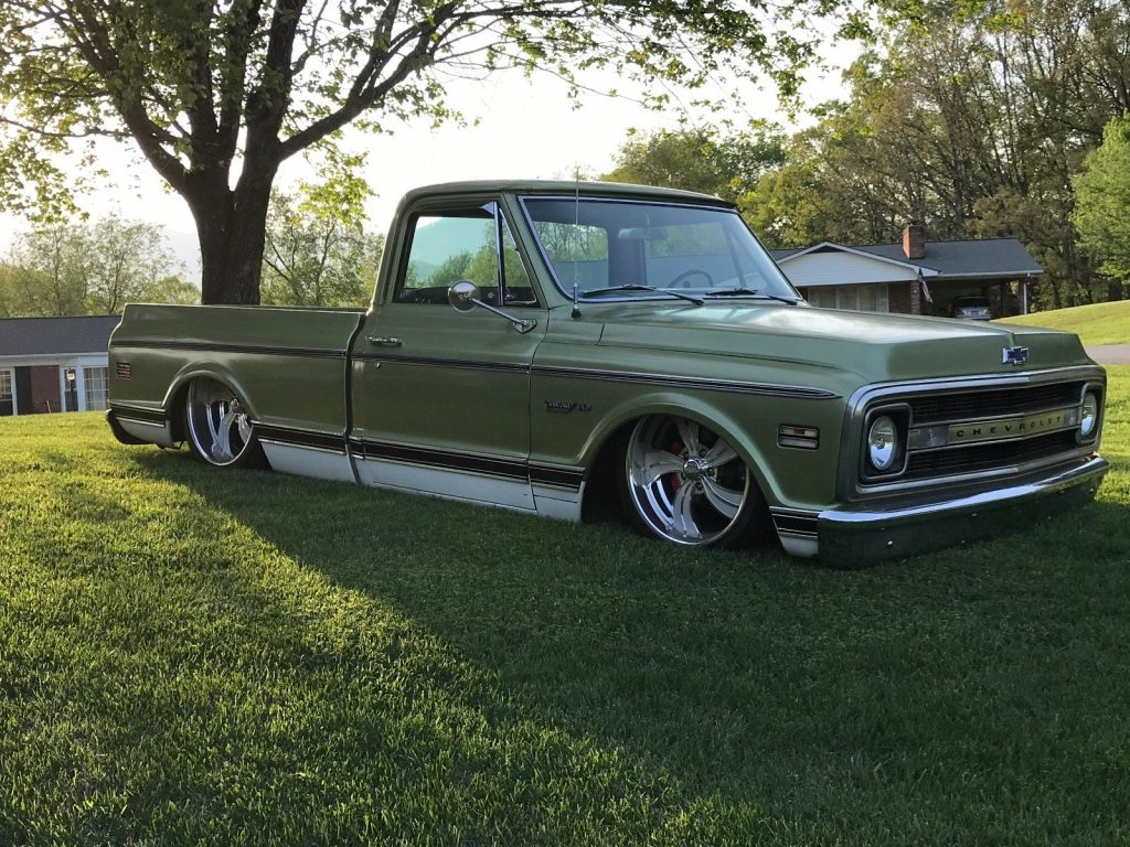 absolutely stunning 1970 chevrolet c 10 custom truck for sale. Black Bedroom Furniture Sets. Home Design Ideas
