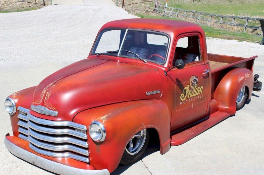 Badass head turner 1949 Chevrolet Pickups 3100 custom truck