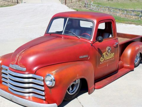 Badass head turner 1949 Chevrolet Pickups 3100 custom truck for sale