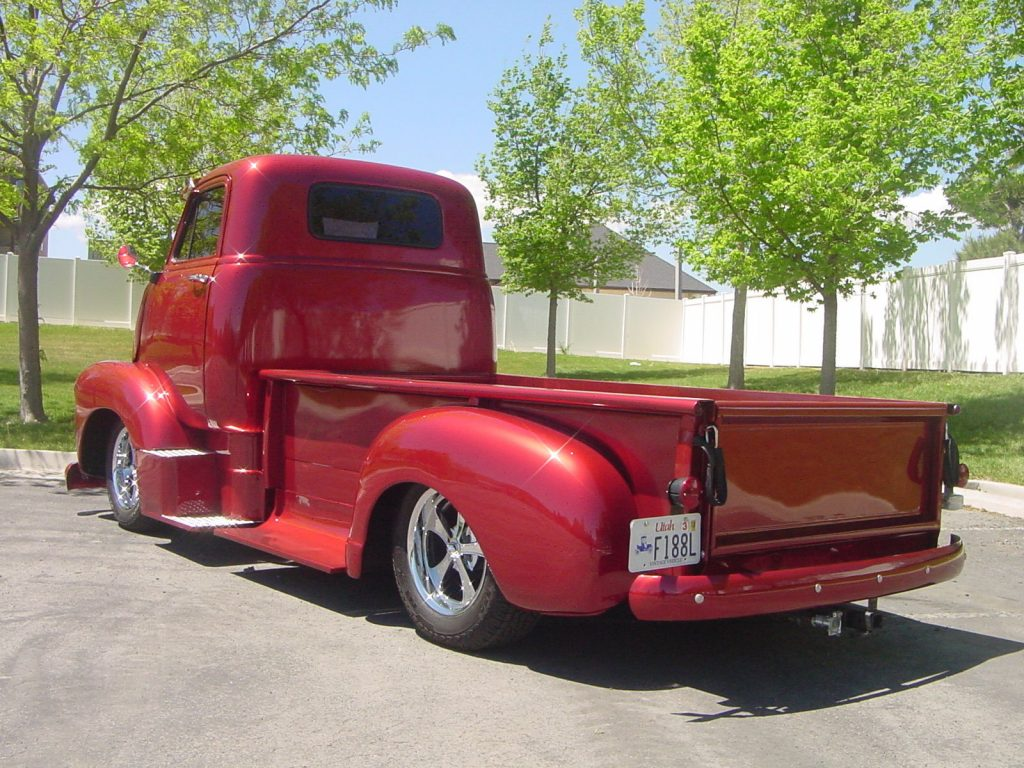 Cabover Beauty 1955 Gmc Sierra 1500 Custom Truck For Sale