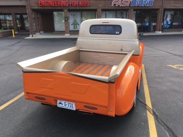 Chopped 1949 Chevrolet Pickups custom truck