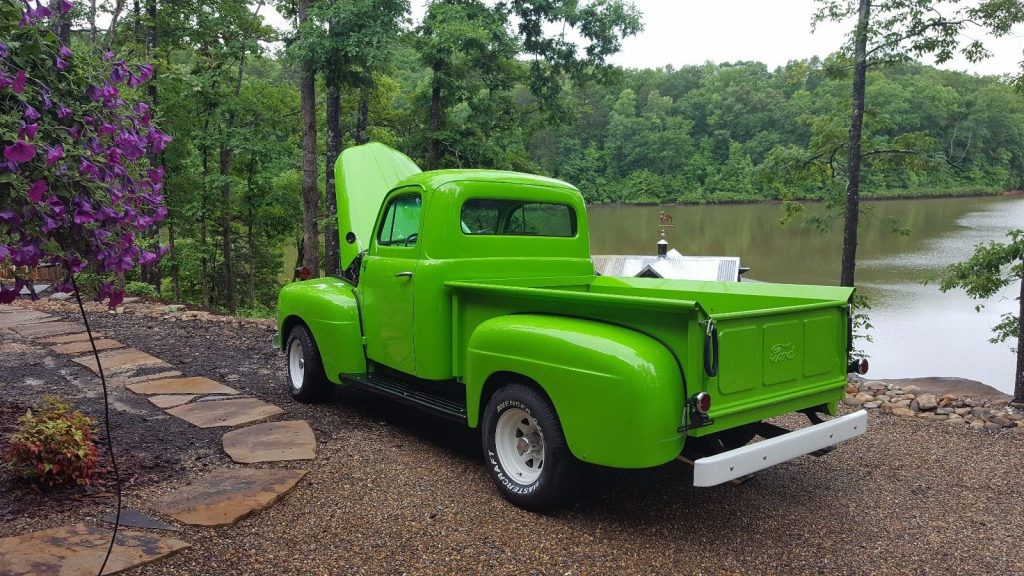 frame off built 1950 ford f 100 custom truck for sale. Black Bedroom Furniture Sets. Home Design Ideas