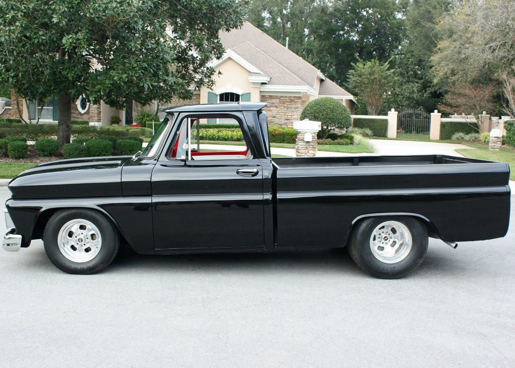 frame off resto 1965 chevrolet c 10 custom truck for sale. Black Bedroom Furniture Sets. Home Design Ideas