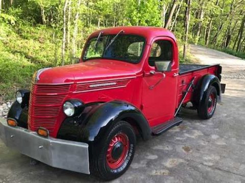 Last year of D model 1940 International D custom truck for sale