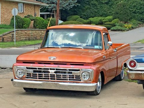 Near perfect 1964 Ford F 100 Custom truck for sale
