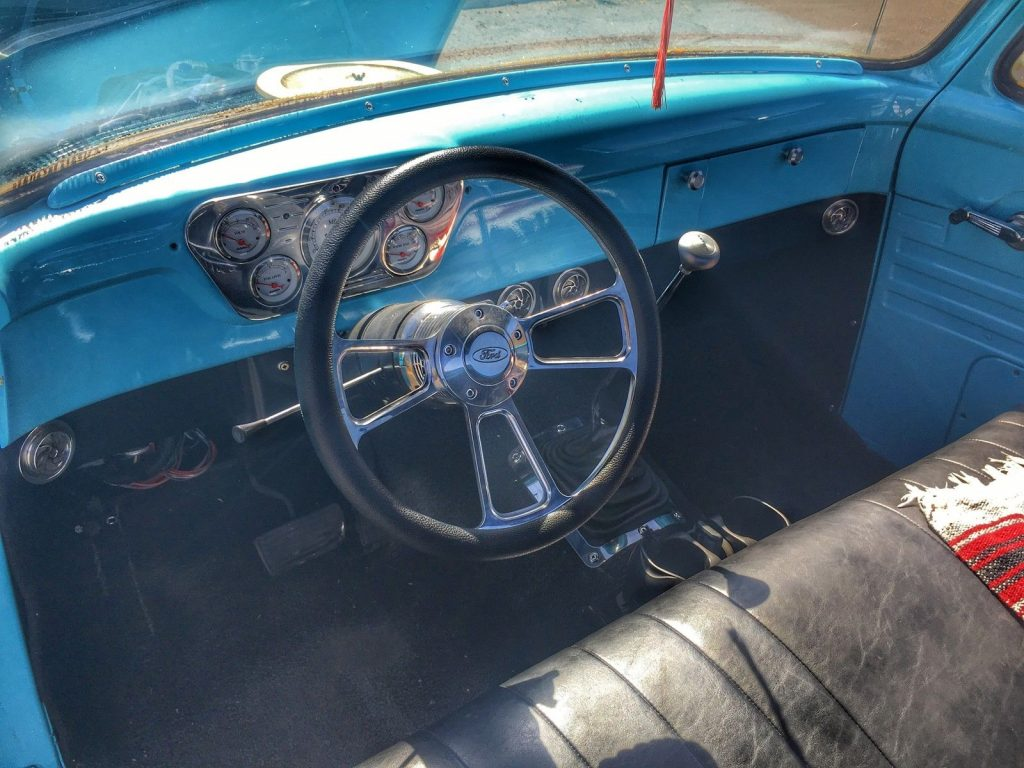 Nice Patina 1955 Ford F 100 Step Side Custom Pickup Truck For Sale F100 Bed