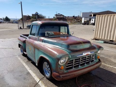 Patina 1956 Chevrolet Pickups Stepside 3100 custom for sale