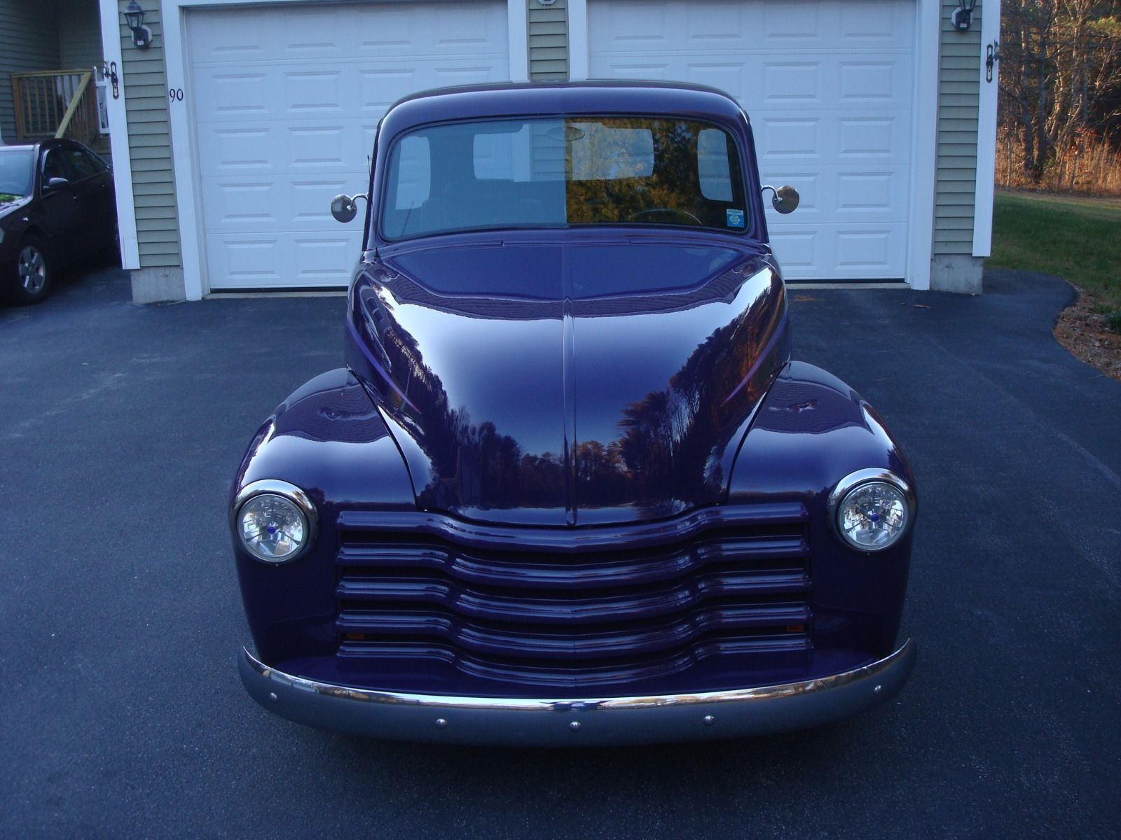 purple beast 1948 chevrolet pickups 3100 custom truck for sale. Black Bedroom Furniture Sets. Home Design Ideas