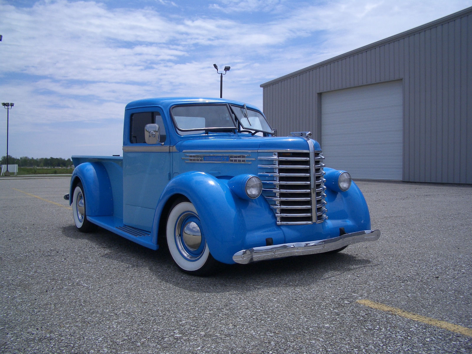 Big Chevrolet Trucks >> Rare 1942 Diamond T vustom truck for sale