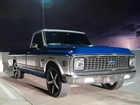 Recently restored 1972 Chevrolet C 10 Super CHEYENNE custom truck for sale