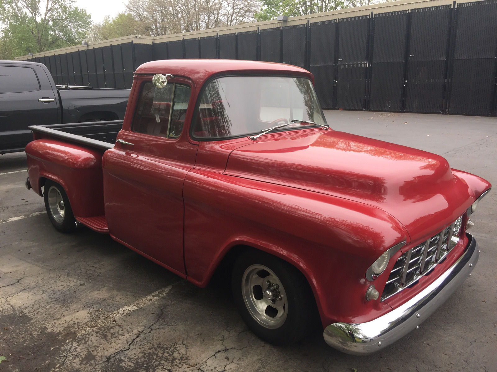 tastefully customized 1956 chevrolet pickups custom truck for sale. Black Bedroom Furniture Sets. Home Design Ideas