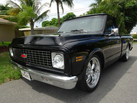 Frame off 1971 Chevrolet C 10 custom for sale