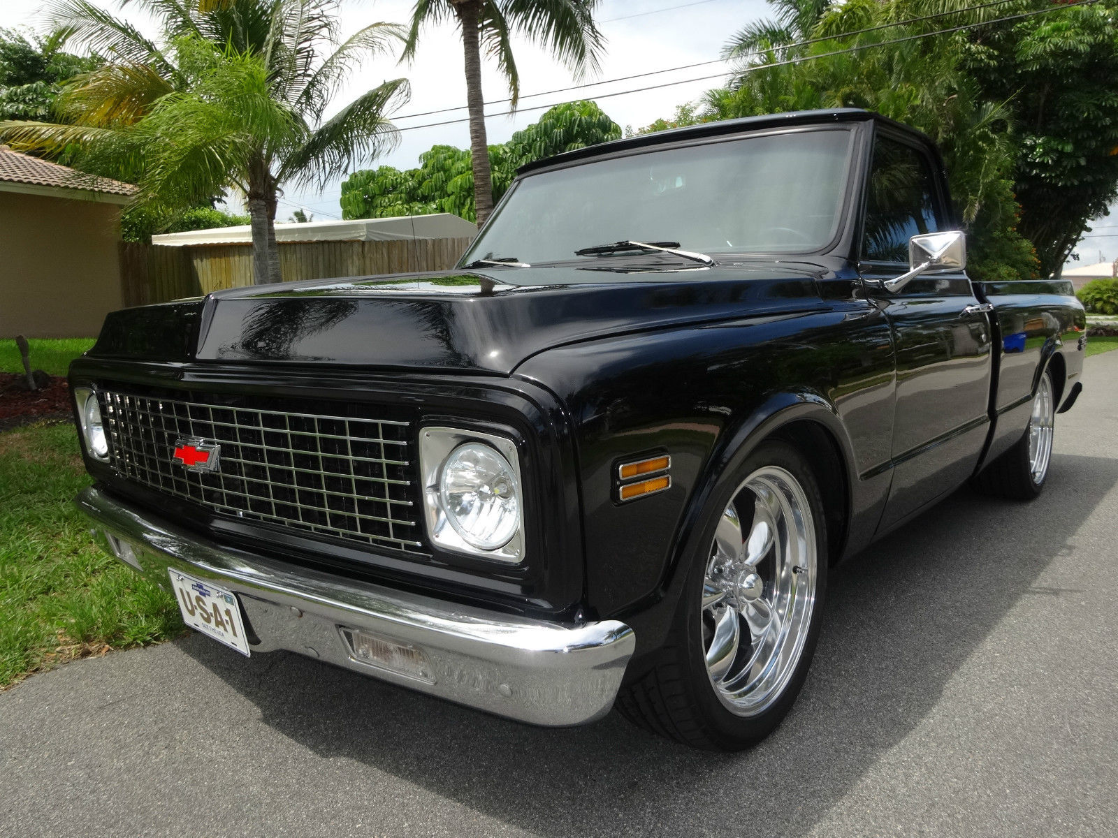 frame off 1971 chevrolet c 10 custom for sale. Black Bedroom Furniture Sets. Home Design Ideas