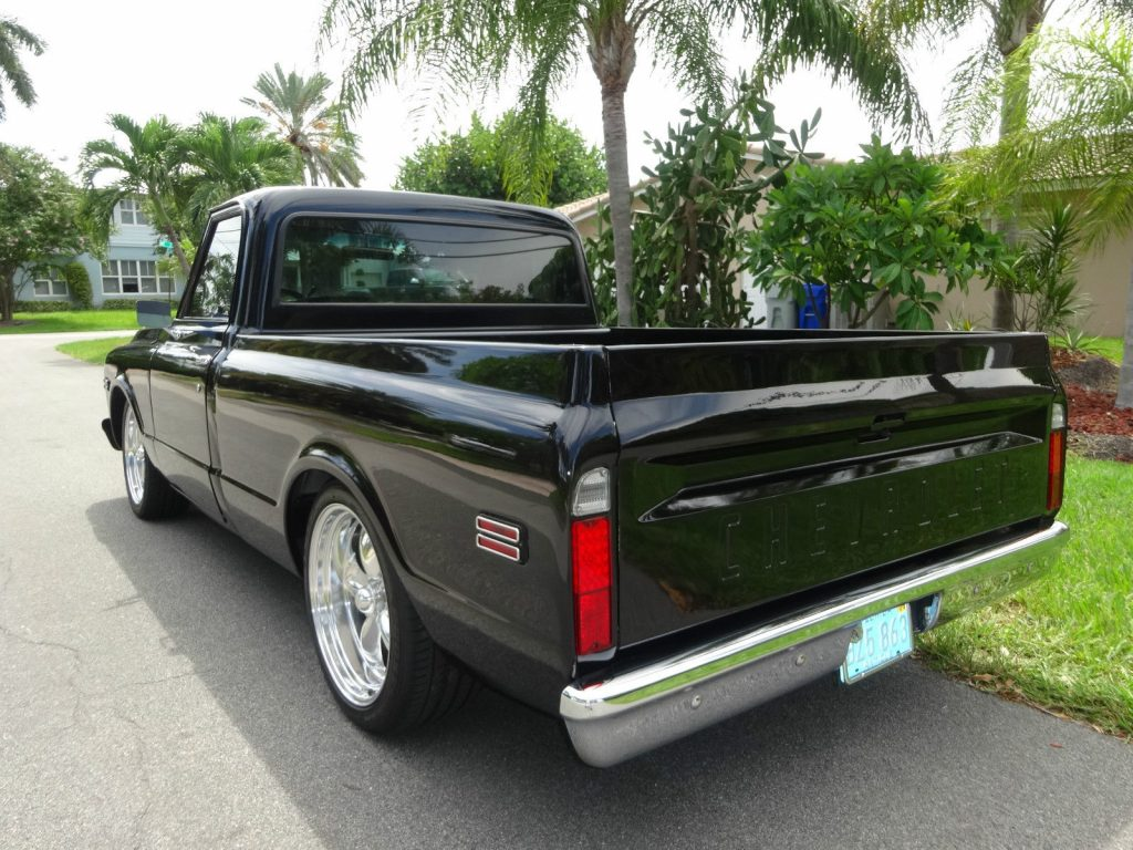 Frame off 1971 Chevrolet C 10 custom