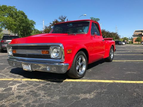Frame off 1972 Chevrolet C 10 Stepside custom for sale