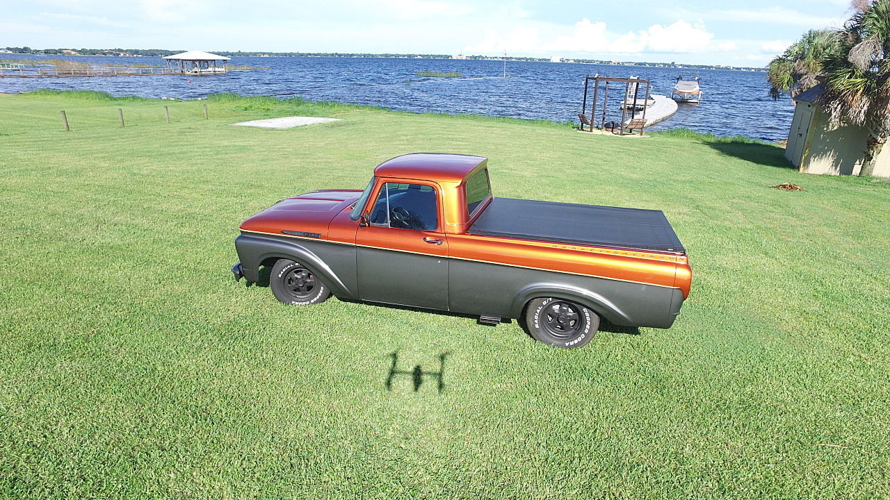 frame off resto 1961 ford f 100 custom truck for sale. Black Bedroom Furniture Sets. Home Design Ideas