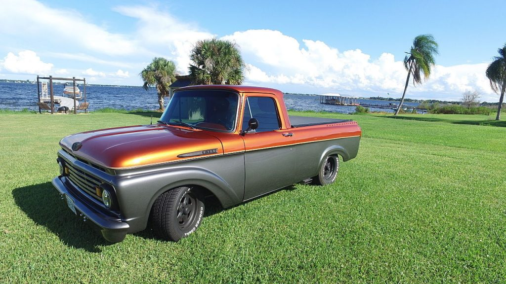 Frame Off Resto 1961 Ford F 100 Custom Truck For Sale