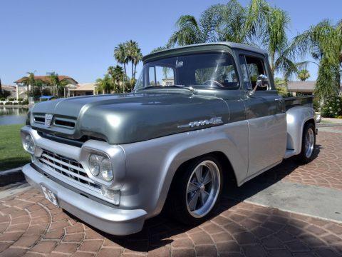 Frame off resto 1960 Ford F 100 custom for sale