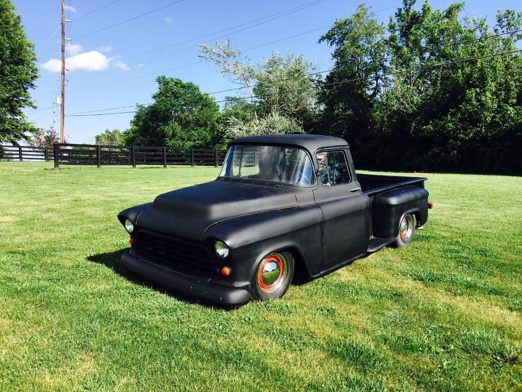 street rod 1956 chevrolet c 10 pickup custom for sale. Black Bedroom Furniture Sets. Home Design Ideas