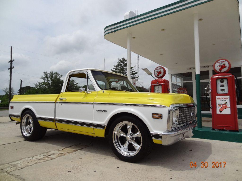 Total restoration 1971 Chevrolet C 10 Custom