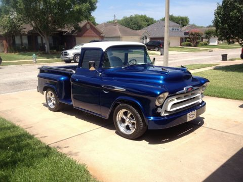 Customized 1957 Chevrolet Pickups Big Back Window custom for sale