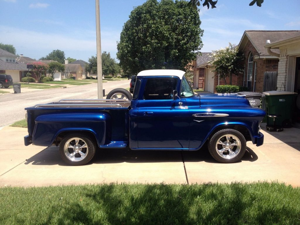 Customized 1957 chevrolet pickups big back window custom for 1957 chevy big window truck for sale