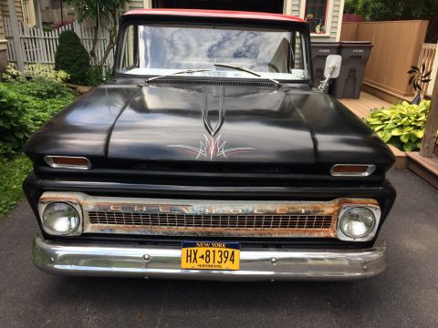 Dropped 1966 Chevrolet C 10 custom truck for sale
