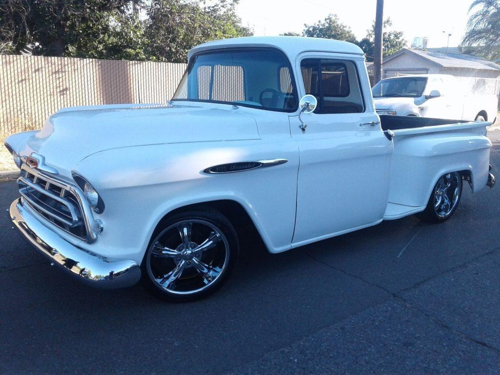 Frame off 1955 Chevrolet Pickups Standard custom