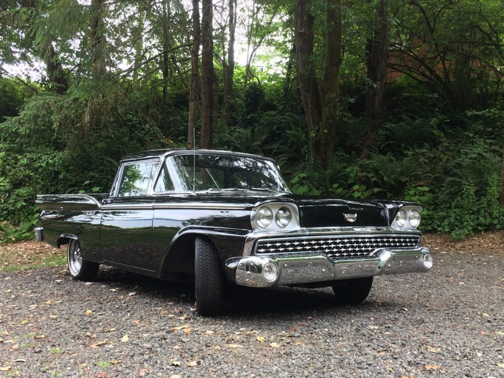 Legendary 1959 ford ranchero custom truck