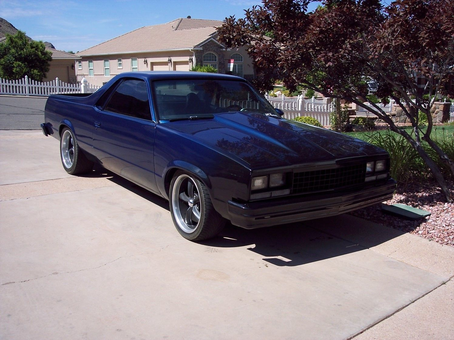 lowered 1982 chevrolet el camino custom truck for sale